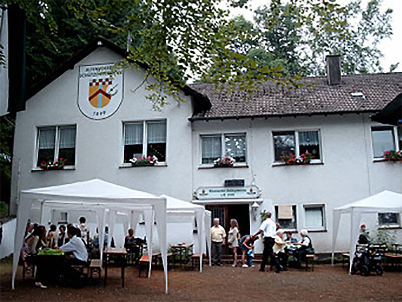 Hier sehen Sie das Vereinsheim des Altenvoerder Schützenverein